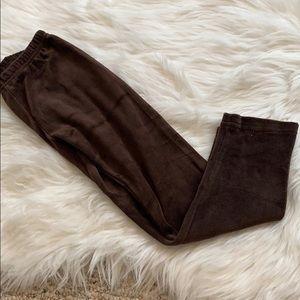 Girls Gymboree valor brown leggings